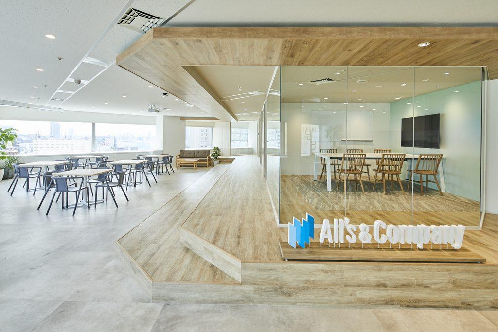 「オープンさ」「徹底的な働きやすさ」を追求した新オフィスのご紹介